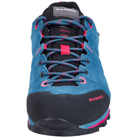 Mammut Wall Guide Low GTX Shoes Women dark pacific-light carmine